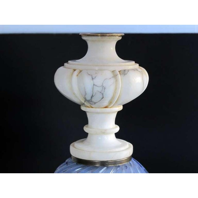 Italian Mid-Century Art Glass Lamp Made for Marbro Lighting, Los Angeles - Image 3 of 5