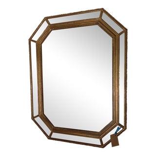Vintage Octagonal Gilt Mirror