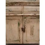 Image of Primitive Painted Antique Dresser Chest Cupboard