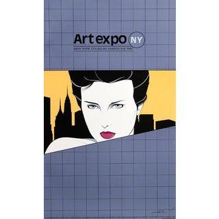 "1981 Patrick Nagel ""Art Expo"" Print"