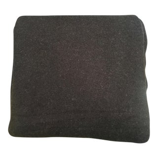 Dark Brown Cashmere Blend Blanket
