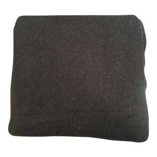 Dark Brown Cashmere Blend Blanket