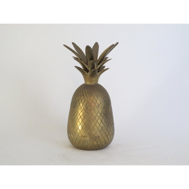 Brass Pineapple Box - Image 2 of 4