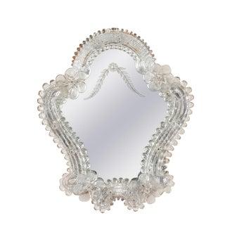 Murano Glass Frame Mirror, 1930s