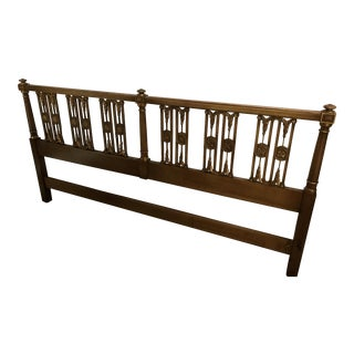 John Widdicomb Hollywood Regency King Headboard