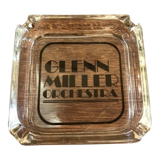 Vintage Glenn Miller Orchestra Ashtray