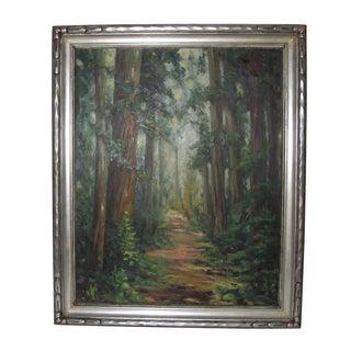 Original Oil Painting of Big Sur