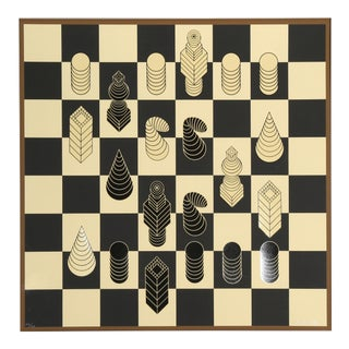 Chessboard by Victor Vasarely