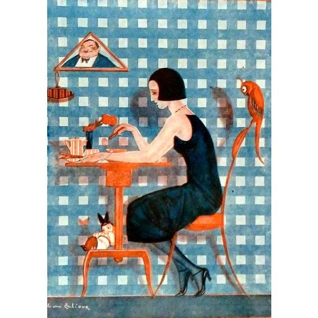 "Image of 1922 Fantasio ""Kiki et Coco"" Print by Sacha Zaliouk"