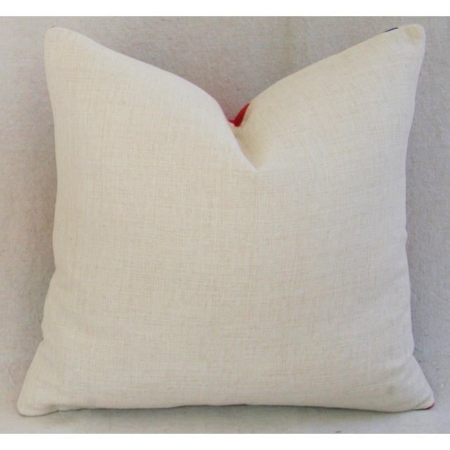 British Union Jack Linen Down/Feather Pillow - Image 5 of 5