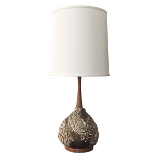 Mid-Century Scandinavian, Danish Pottery Lamp