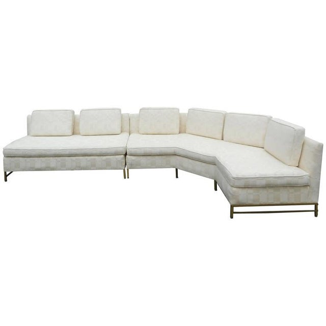 Impressive Two-Piece Mid-Century Modern Sofa by Paul McCobb for Directional - Image 2 of 11