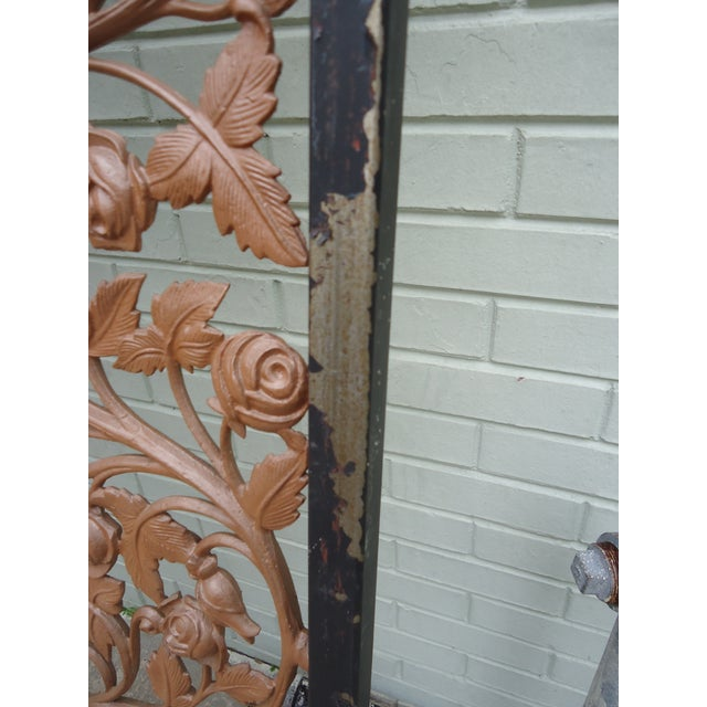 Vintage Wrought Iron Room Divider - Image 3 of 4