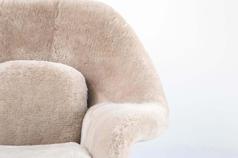 Set of Eero Saarinen Womb Chairs Chairish