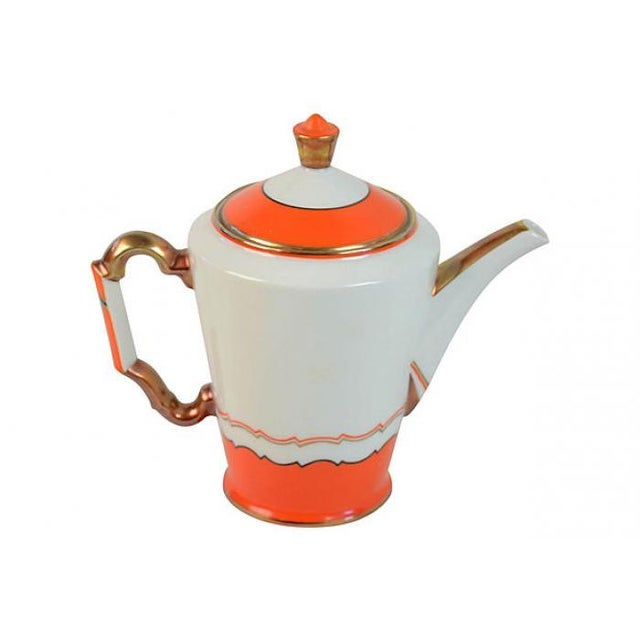 Image of Colorful Demitasse Tea Set for Four
