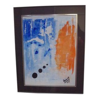 """Follow Me"" Original Abstract Painting"