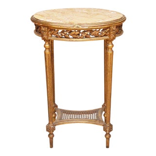 French Antique Oval Table