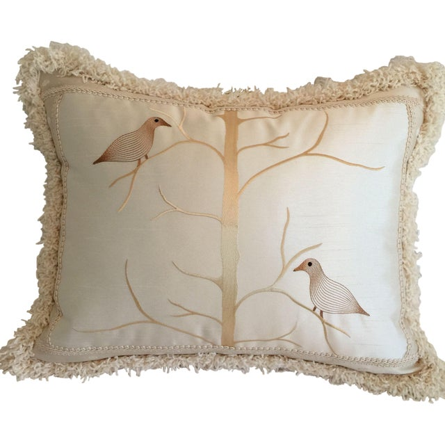 Beacon Hill Birds on Branch Pillow - Image 1 of 3