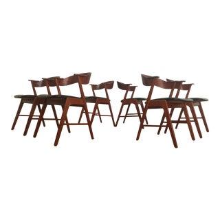 Kai Kristiansen Model 32 Dining Chairs - Set of 6