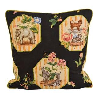 Scalamandre Animal Motif Pillow