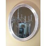Image of Oval Silverleaf Mirror