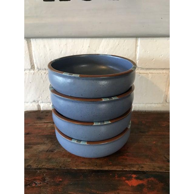 Dansk Mesa Blue Cereal Bowls - Set of 4 - Image 2 of 6