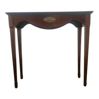 The Bombay Company Carved Mahogany Side Table