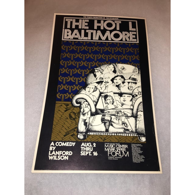 Original 'The Hot L Baltimore' Poster - Image 2 of 3
