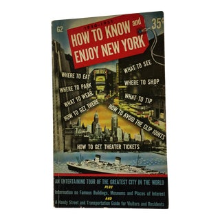 How to Know and Enjoy New York 1950 Softcover