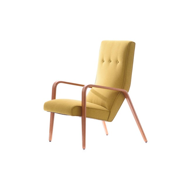 Thonet Mid-Century Modern Bentwood Lounge Chair - Image 5 of 5
