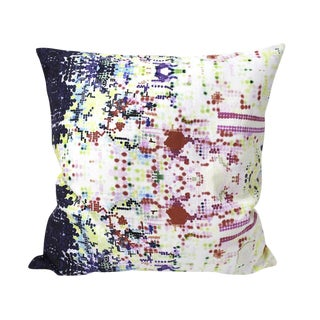 Multicolor Pixelated Pillow