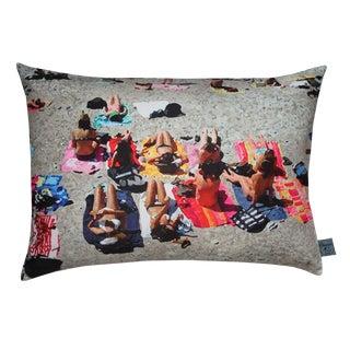 Beach Photo Print Pillow