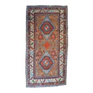 "Vintage Camel Ground Kazak Rug - 3'1"" X 6'1"""