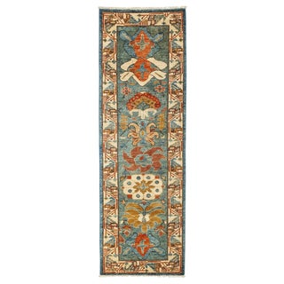 "Ziegler, Hand Knotted Runner Rug - 2' 8"" X 7' 10"""
