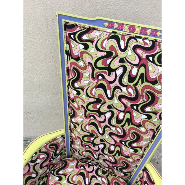 Multicolor High Back Chair - Image 6 of 7