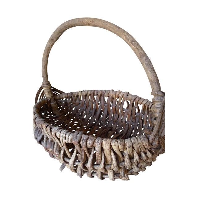 Large Appalachian Handwoven Basket - Image 1 of 7