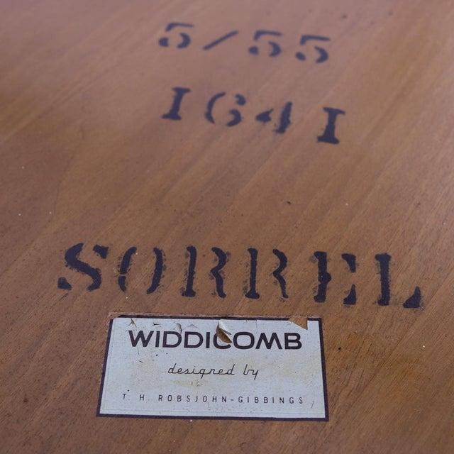 1955 T.H. Robsjohn-Gibbings Widdicomb Tripod Table - Image 7 of 7