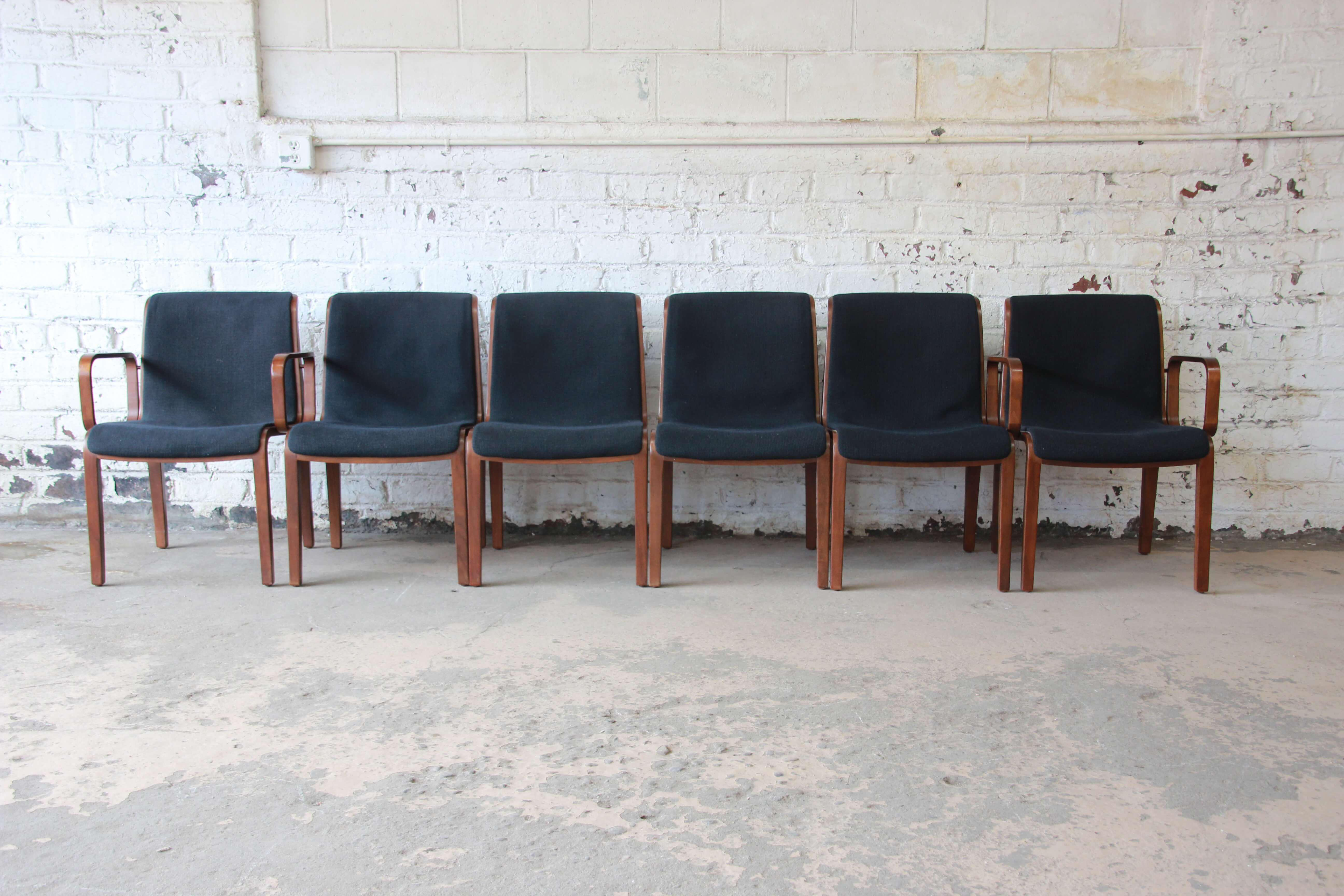 Bill Stephens For Knoll Dining Chairs   Set Of 6   Image 2 Of 11