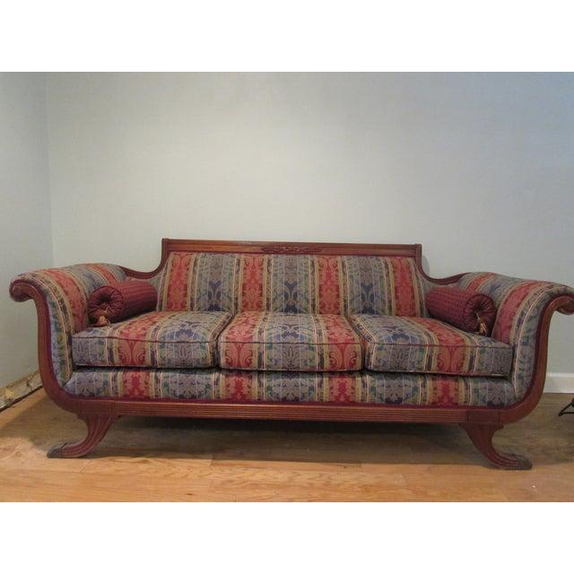 Antique Sofa Duncan Phyfe: Antique Duncan Phyfe Style Sofa