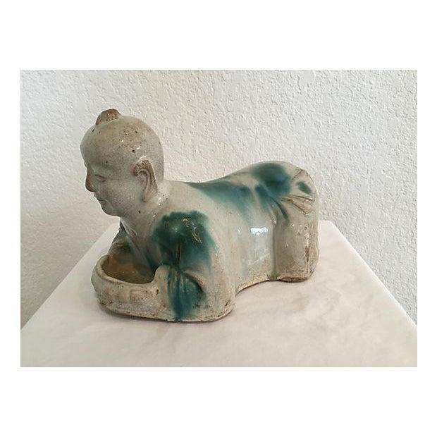Image of Antique Asian Porcelain Pillow