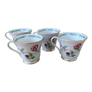Vintage Gorham China Tea Cups - Set of 4