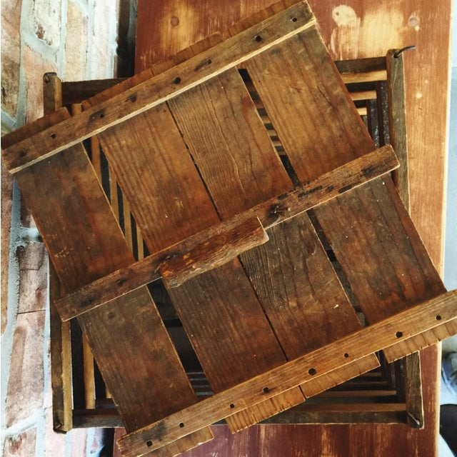 Antique Egg Carrier Crate - Image 6 of 6