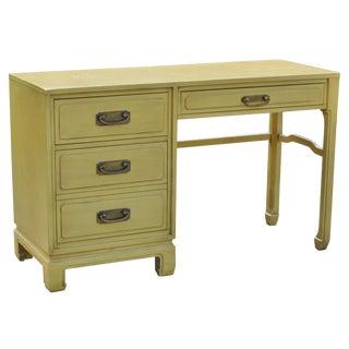 Mid-Century Ming Style Desk Vanity