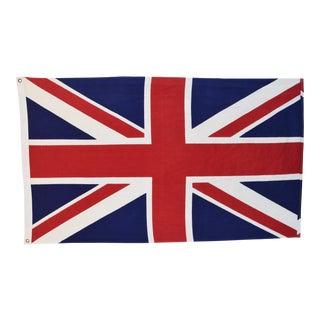 Vintage 100% Cotton British United Kingdom Union Jack Flag