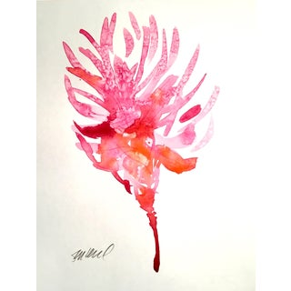 Scarlet Pine Watercolor