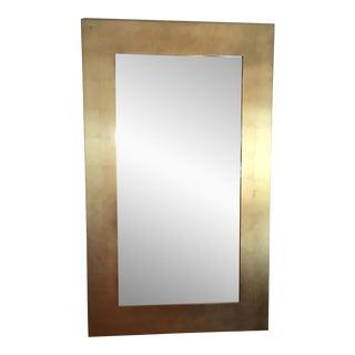 Donghia Gold Leaf Mirror