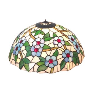 Vintage Tiffany Style Leaded Glass Shade