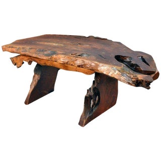Live Edge Free-Form Desk