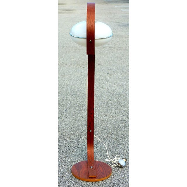 Molded Plywood & Lucite Floor Lamp - Image 2 of 4