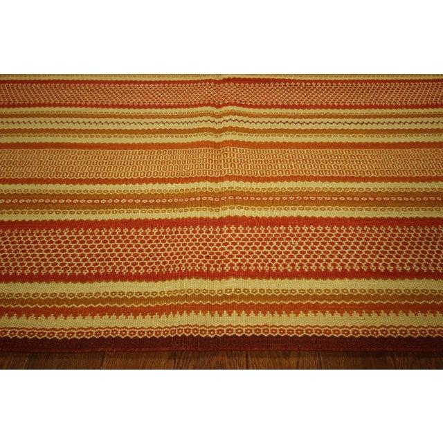 "Image of Multicolor Modern Kilim Rug - 5'7"" x 8'"